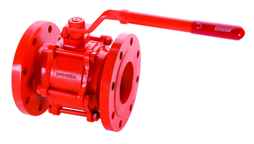 CAST STEEL (WCB) BALL VALVE FLANGED ENDS