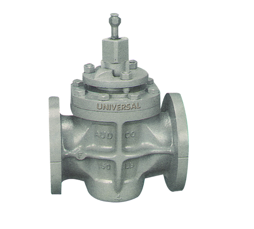 CAST STEEL SELF LUBRICATING PLUG VALVE FLANGED ENDS