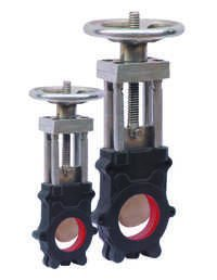 CAST STEEL (WCB) KNIFE EDGE GATE VALVE