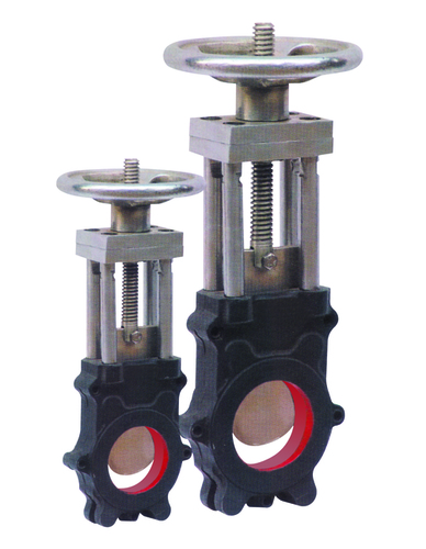 CAST IRON KNIFE EDGE GATE VALVE