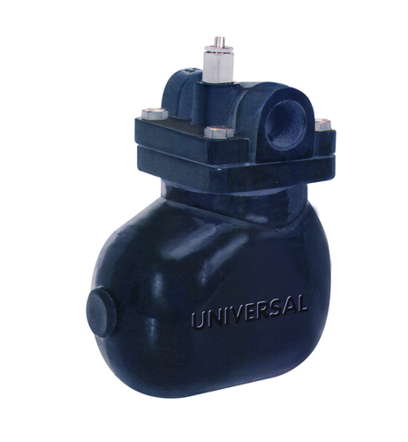 CAST STEEL HORIZONTAL FLOAT TYPE STEAM TRAP SCREWED / SOCKET WELD ENDS