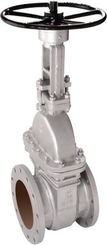 CAST IRON GATE VALVE FLANGED ENDS