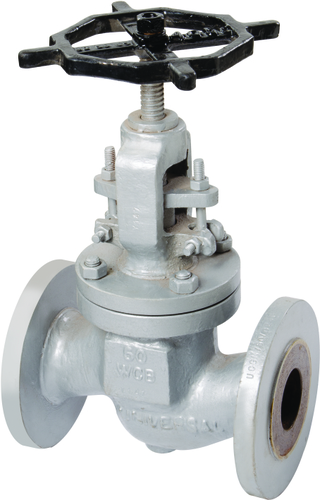 CAST IRON GLOBE VALVE FLANGED ENDS ND-16