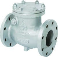 CAST STEEL (WCB) SWING CHECK VALVE FLANGED ENDS ASA 150#