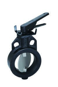 CAST IRON BUTTERFLY VALVE S.S 304 DISC WAFER TYPE