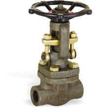 FORGE STEEL GATE VALVE SCREWED / SOCKET WELD ENDS