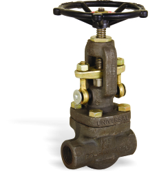 FORGE STEEL GLOBE VALVE SCREWED / SOCKET WELD ENDS
