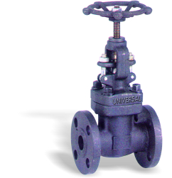 FORGE STEEL GLOBE VALVE FABRICATED FLANGED ENDS