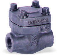 FORGE STEEL CHECK VALVE / NON RETURN VALVE SCREWED / SOCKET WELD ENDS