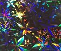 STAR HOLOGRAPHIC PATTERN NUMBER 7