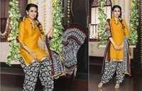 Yellow Low Range Patiyala Suit By Karishma Kappor