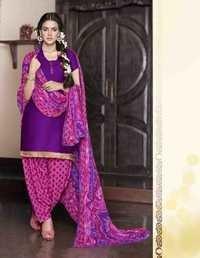 Violet  Low Range Patiyala Suit By Karishma Kappor