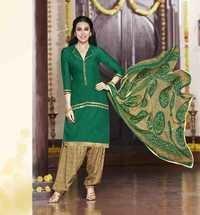 Green Low Range Patiyala Suit By Karishma Kappor