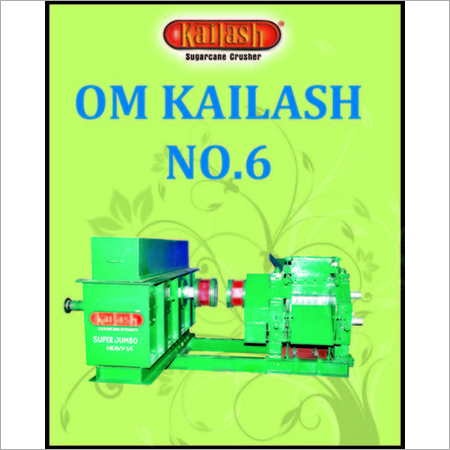 Om Kailash No. Super Jumbo Heavy Chottu Sugarcane Crusher