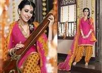 Low Range Pinky Patiyala Suit By Karishma Kappor
