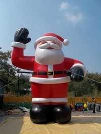 Santa -Waving
