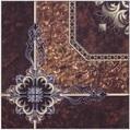 400 X 400 Black Print Floor Tiles