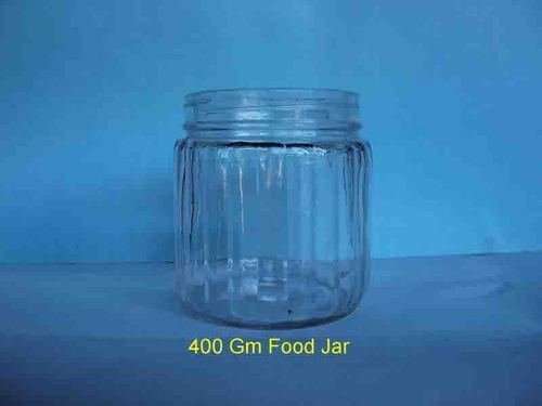 Glass Jam Bottle