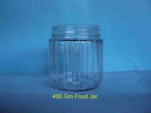 Glass Jam Bottle