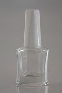 Empty Nail Paint Glass Bottle