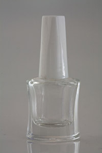 Empty Nail Paint Glass Bottle