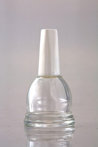 Empty Nail Polish Bottle With Cap