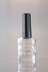 Empty Nail Polish Container With Cap
