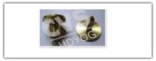 CVS 72 Ear Tag Brass Button