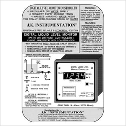 Digital Liquid Level Monitor