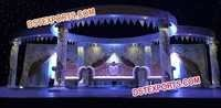 ASIAN WEDDING CRYSTAL STAGE SET