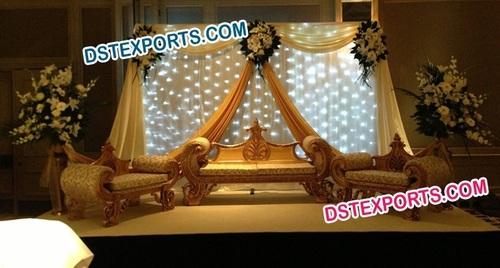 ASIAN WEDDING MAHARAJA SOFA SET