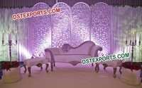 English Wedding Stage Backdrop Panels