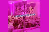 Wedding Crystal Candelabra Center Pieces
