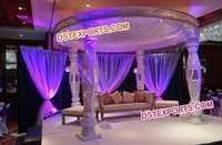 Dream Wedding Crystal Mandap