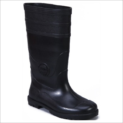 Master Gumboot Black Size 6 to 10  Height-14 Inch.