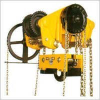 Triple Spur Gear Chain Pulley Block