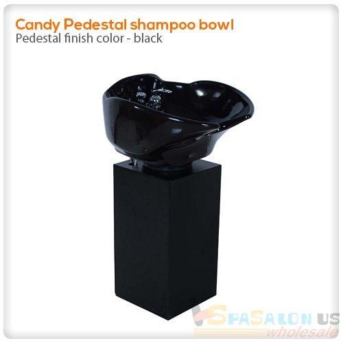 Pedestal shampoo bowl