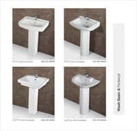 Wash Basins and Pedestal