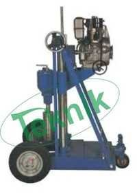 Core Cutting Core Drilling Machine  Motorized