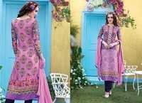 Violet  Rivaa Printed & Embroidered Salwar Kameez