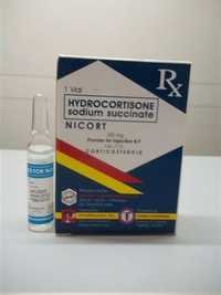 Hydrocortisone Sodium Succinate for Injection BP 2