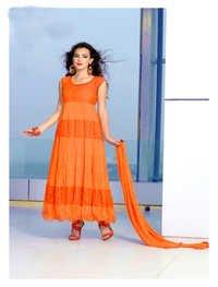 Fabulous Designer Brasso Anarkali Suit