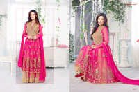 Pink Designer Anarkali Suits