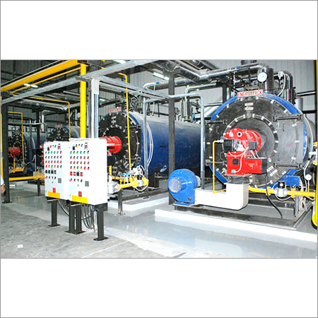 IBR Oil / Gas Fired Steam Boiler