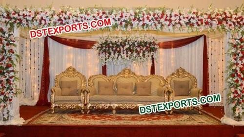 ROYAL INDIAN WEDDING SOFA SET