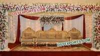 ROYAL INDIAN WEDDING SOFA SET