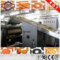 FUDE BBG series Automatic multi-function biscuit production line - With electric heating oven