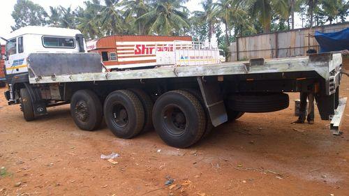 12 Wheel Flat Truck Trailer