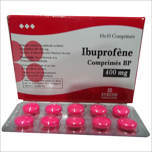 Ibuprofene Bp 400Mg