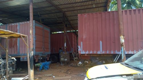 Commercial Cargo Container